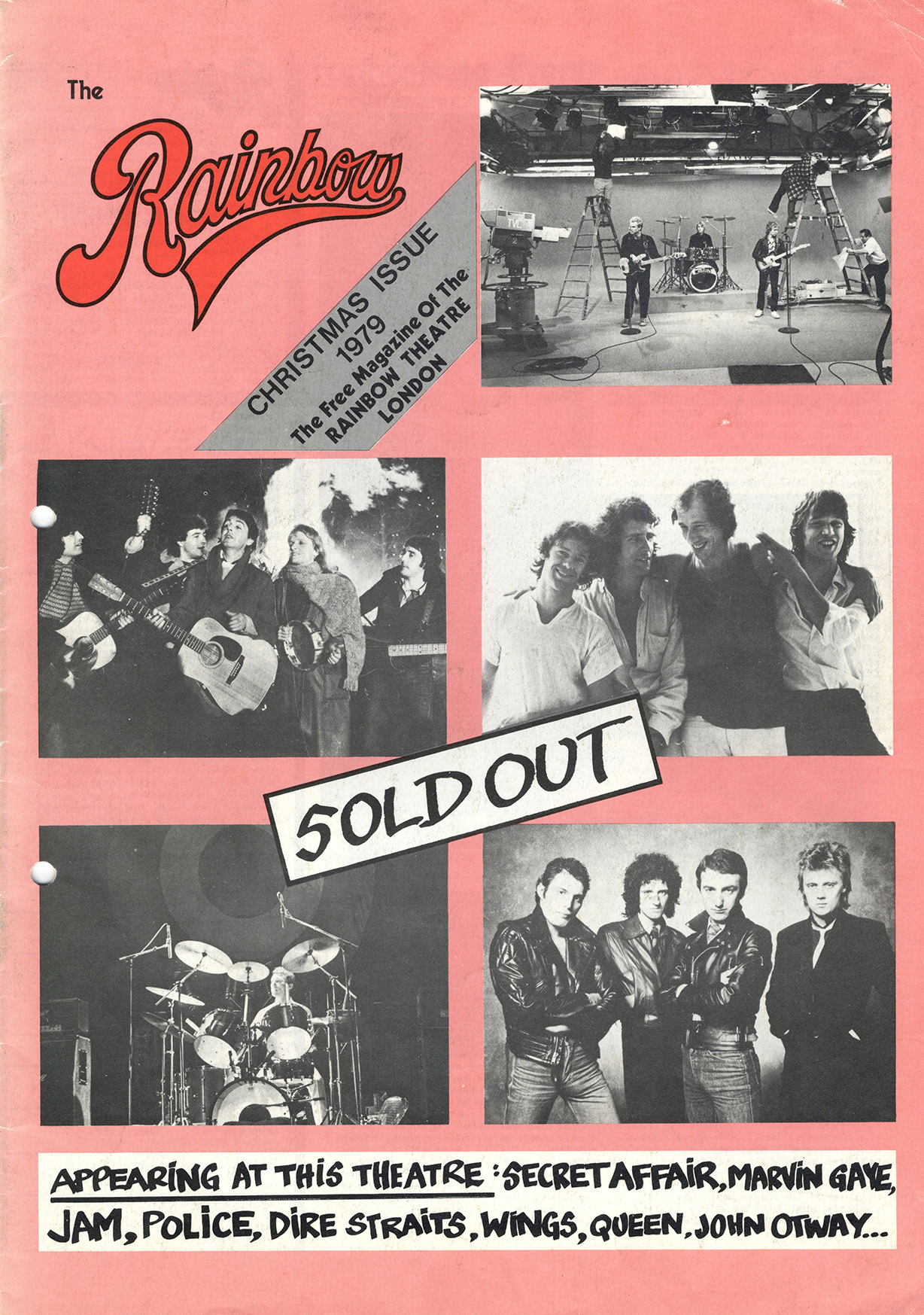 Crazy Tour special program (Rainbow Theatre, December 1979)