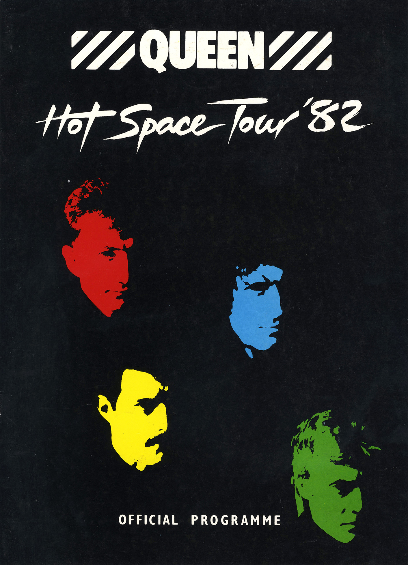 Hot Space tour program (UK)