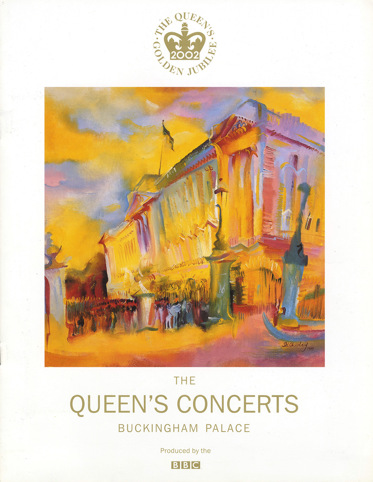 Queen's Jubilee program 2002