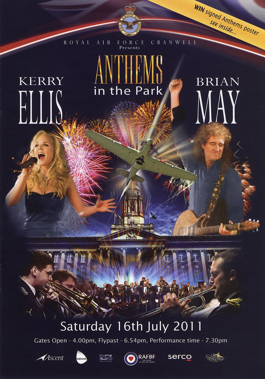Brian + Kerry Ellis - Cranwell 16.07.2011 (Anthems)
