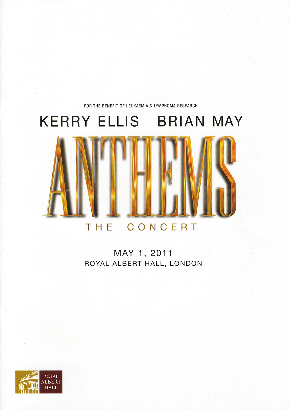 Brian + Kerry Ellis - London 01.05.2011 (Anthems)