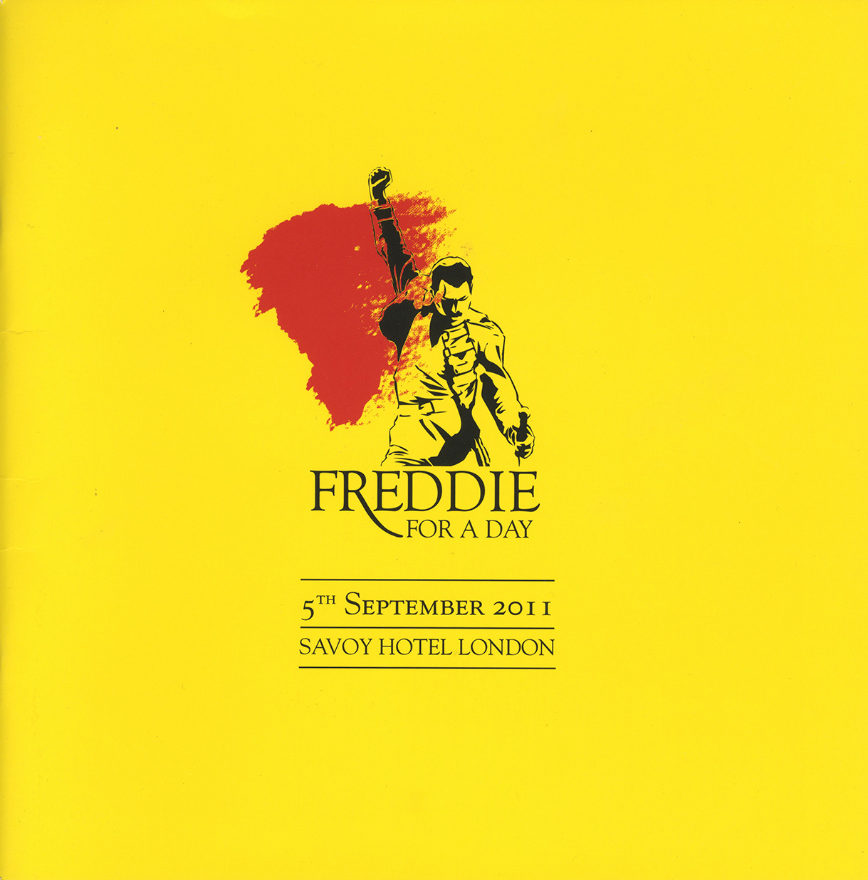 Freddie For A Day 2011 programme