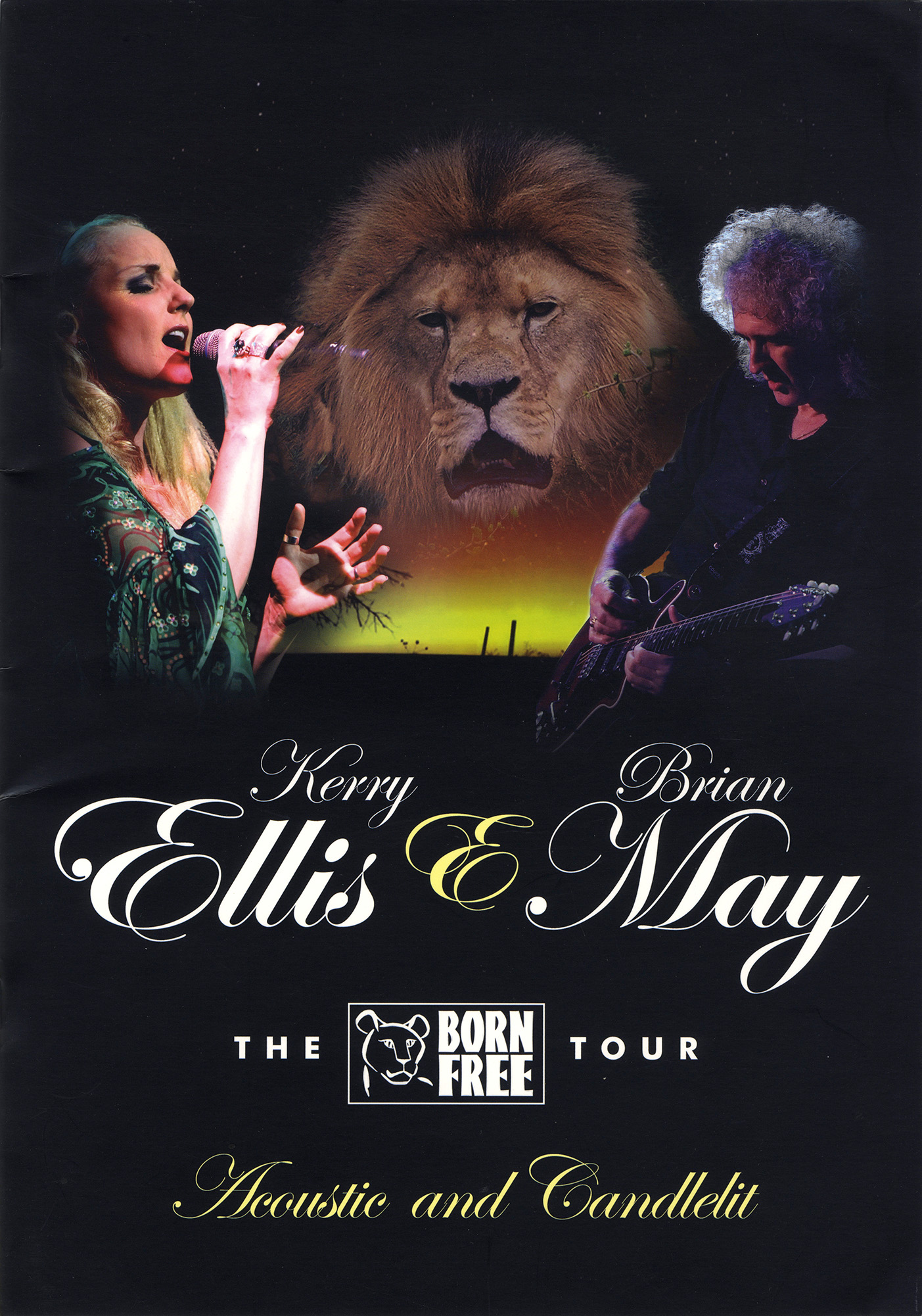 Brian May + Kerry Ellis - Born Free tour 2012