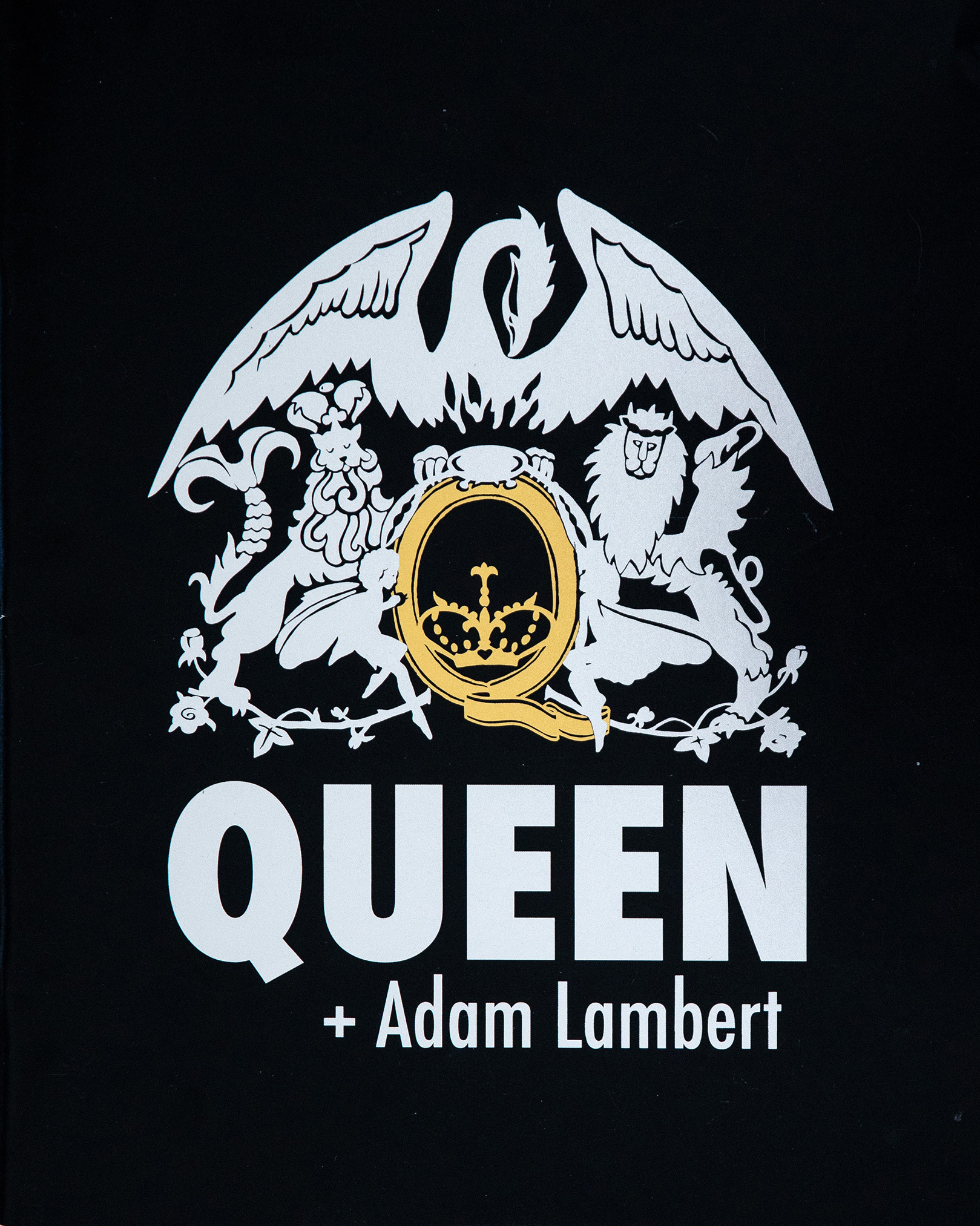 Queen + Adam Lambert - 2014 tour - glossy