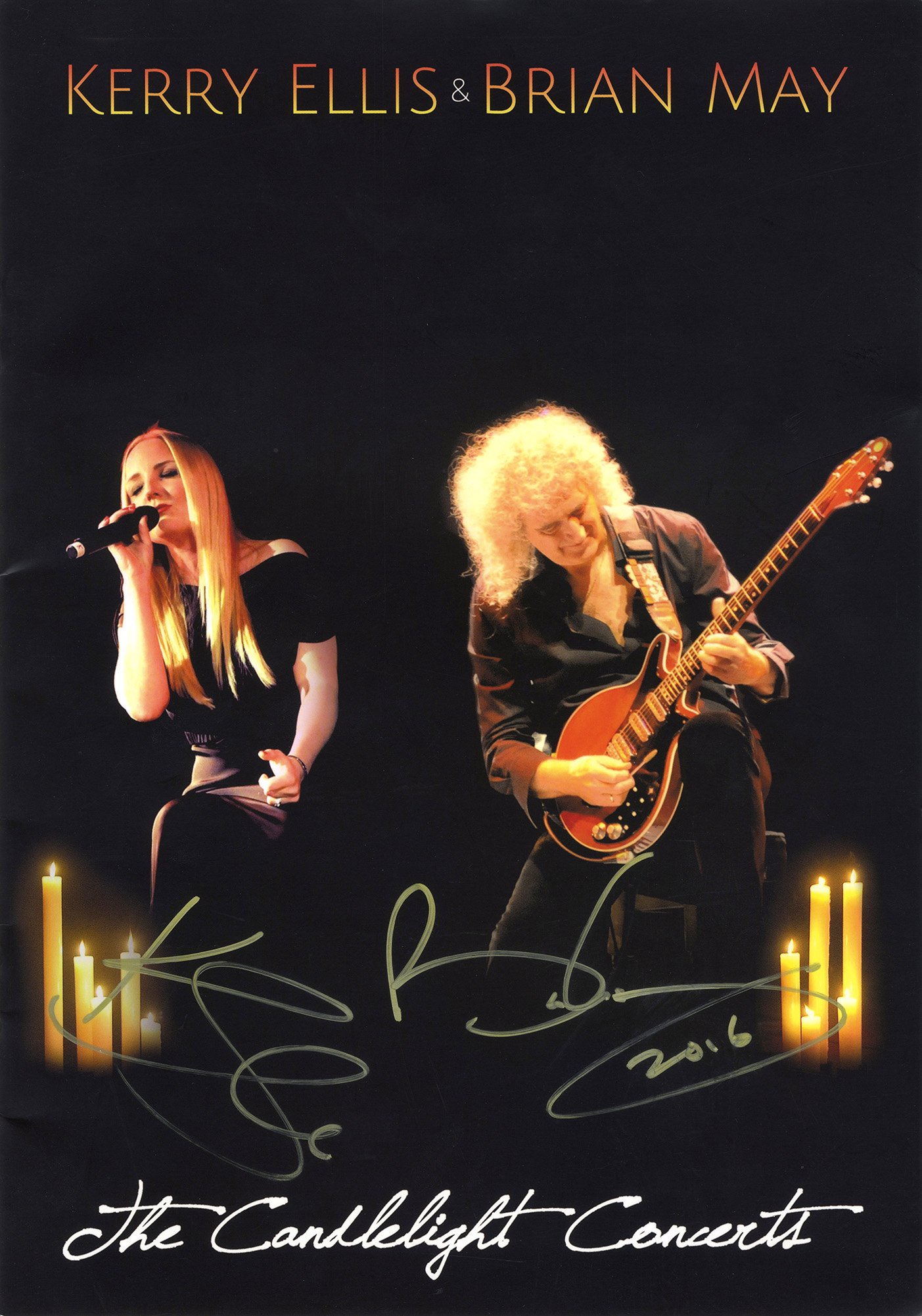 Brian May + Kerry Ellis - The Candlelight Concerts 2014-2016
