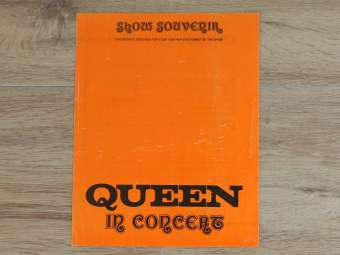 Queen early show souvenir for sale - UK 1973-1974