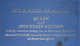 Invite to a Queen party before the Montreux 1986 performance
