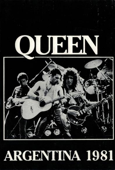 Ticket stub - Queen live at the Estadio José Amalfitani de Velez Sarsfield, Buenos Aires, Argentina [28.02.1981]
