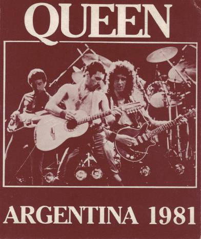 Ticket stub - Queen live at the Estadio José María Minella, Mar del Plata, Argentina [04.03.1981]