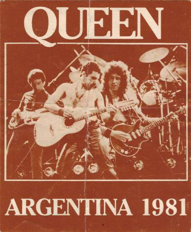 Ticket stub - Queen live at the Estadio José Amalfitani de Velez Sarsfield, Buenos Aires, Argentina [08.03.1981]