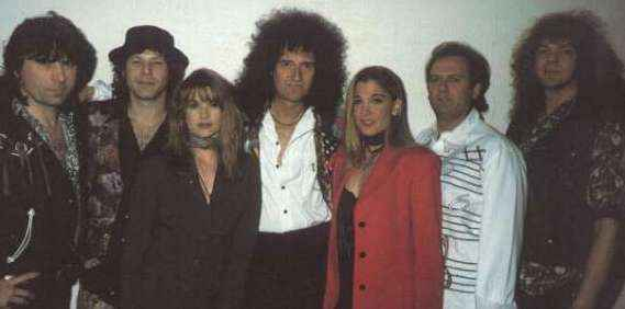 Brian May band in 1993