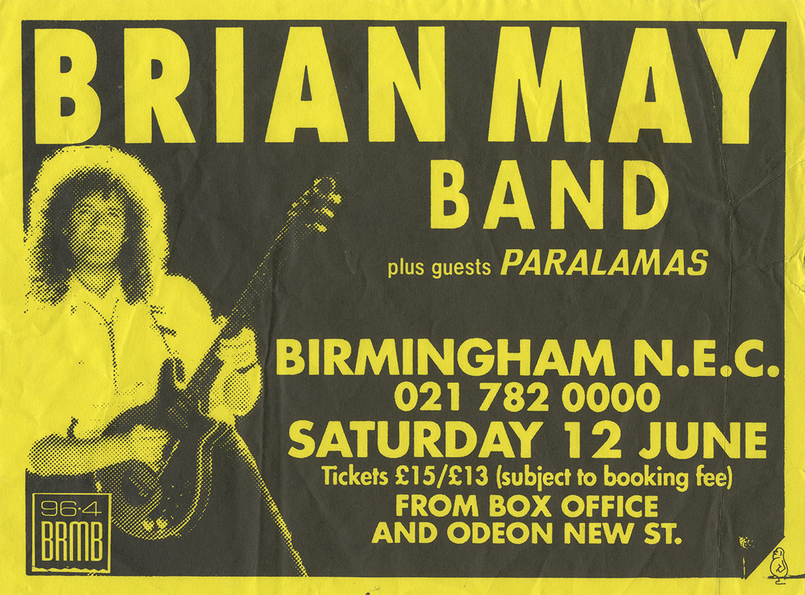 Brian May in Birmingham on 12.6.1993