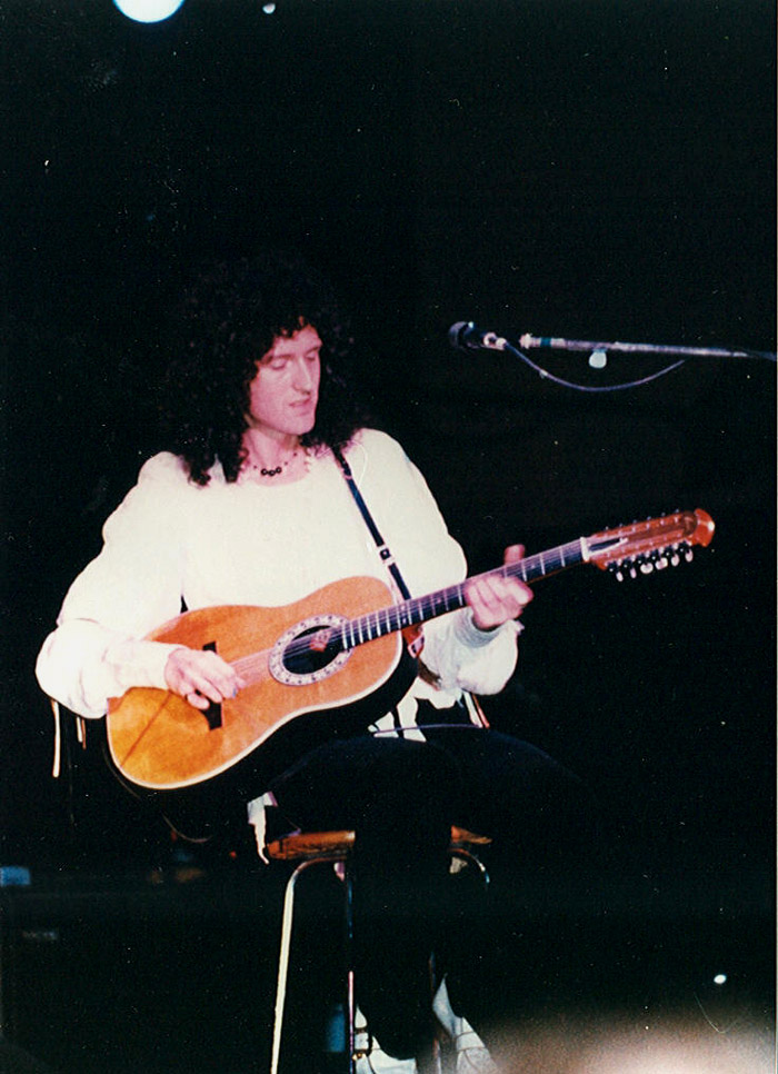 Brian's acoustic Ovation