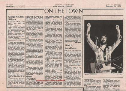Newspaper review: Queen live at the Palmengarten, Frankfurt, Germany [04.12.1974]