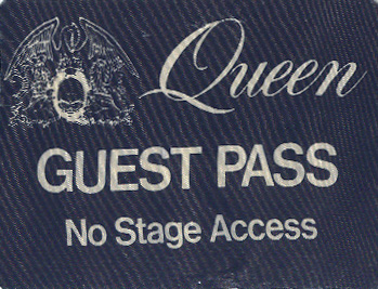 Official guest pass for ADATR tour