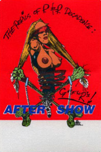 North American aftershow pass red (1993)