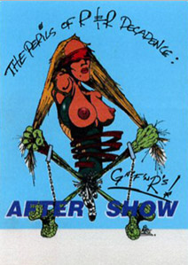 North American aftershow pass blue (1993)