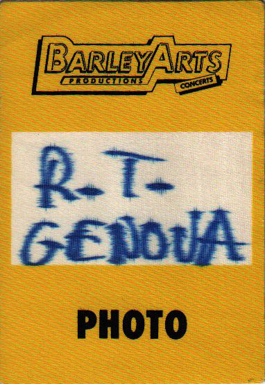 Genova 18.1.1995 photo pass