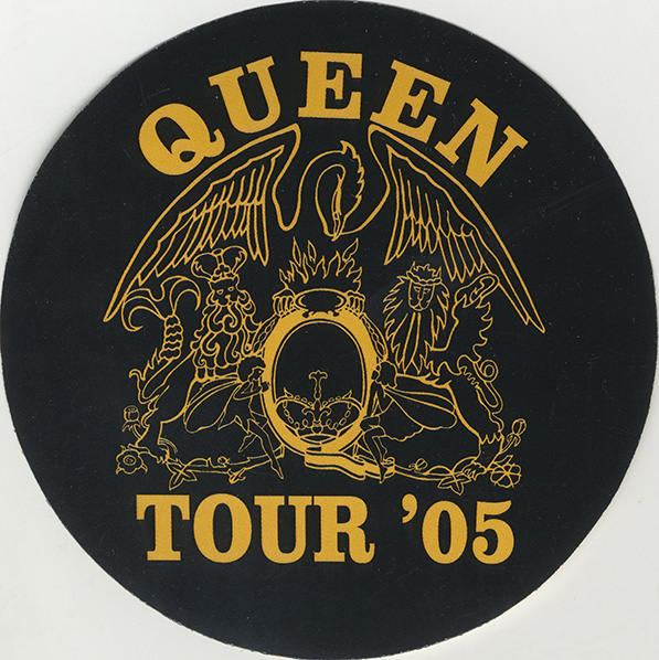 Queen + Paul Rodgers pass for their 2005 tour
