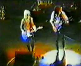 Guest appearance: Brian May live at the Hammersmith Odeon, London, UK (with Mott The Hoople)