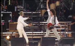 Guest appearance: Brian May + Roger Taylor live at the Buckingham Palace, London, UK (Queen's Jubilee)