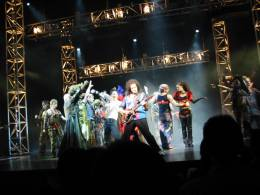 Guest appearance: Brian May live at the Teatro Calderón, Madrid, Spain (WWRY musical)