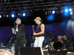 Guest appearance: Roger Taylor live at the Antonis Papadopoulos Stadium, Larnaca, Cyprus (with SAS Band (Midge Ure, Paul Young, Fish and others))