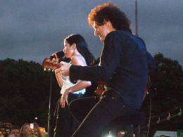 Guest appearance: Brian May live at the Hyde Park, London, UK (46664 - Nelson Mandela 90th birthday)