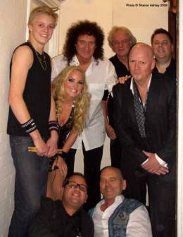 Guest appearance: Brian May live at the London Palladium, London, UK (Royal Variety (80th anniversary))
