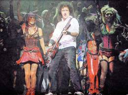 Concert photo: Brian May live at the Hippodrome, Bristol, UK (WWRY musical) [17.09.2009]