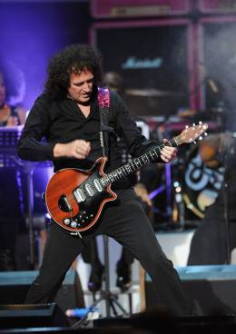 Guest appearance: Brian May live at the Royal Albert Hall, London, UK (Pinktober - Women of rock)