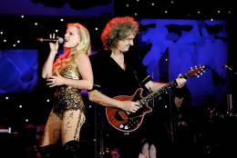 Guest appearance: Brian May live at the Hyde Park, London, UK (Proms In The Park)