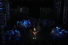 Guest appearance: Brian May live at the Theater des Westens, Berlin, Germany (WWRY musical premiere)
