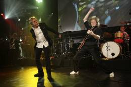 Guest appearance: Brian May + Roger Taylor live at the Battersea Power Station, London, UK (Collars & Coats Gala Ball)