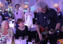 Guest appearance: Brian May live at the The Savoy, London, UK (Freddie For A Day - Freddie's 66th birthday party)