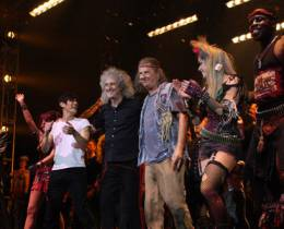 Guest appearance: Brian May live at the Capital FM Arena, Nottingham, UK (WWRY musical)