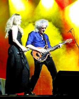 Guest appearance: Brian May live at the Palladium, London, UK (with Kerry Ellis)