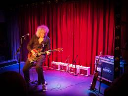 Guest appearance: Brian May live at the Century Club, London, UK (Red Special book launch)