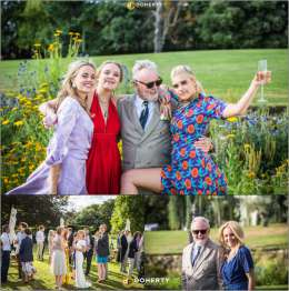 Guest appearance: Brian May + Roger Taylor live at the Roger's garden, Puttenham, UK (Felix Taylor's wedding)
