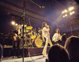 Concert photo: Queen live at the Olympen, Lund, Sweden [27.11.1974]
