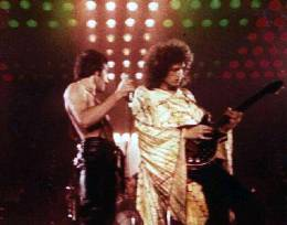 Concert photo: Queen live at the Rudi Sedlmayer Halle, Munich, Germany [11.02.1979]