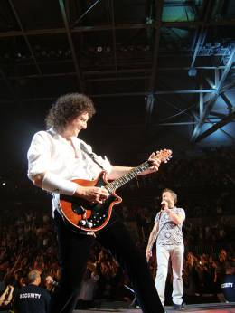 Concert photo: Queen + Paul Rodgers live at the SAP Arena, Mannheim, Germany [02.10.2008]