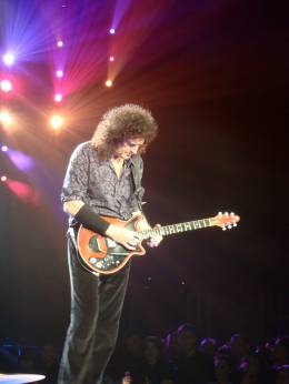 Concert photo: Queen + Paul Rodgers live at the Color Line Arena, Hamburg, Germany [05.10.2008]