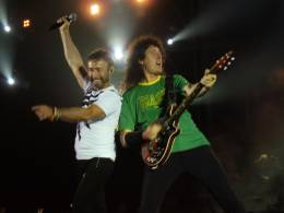 Concert photo: Queen + Paul Rodgers live at the HSBC Arena, Rio De Janeiro, Brazil [29.11.2008]