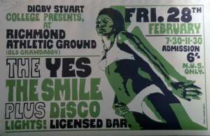 Poster - Smile in Richmond on 28.02.1969
