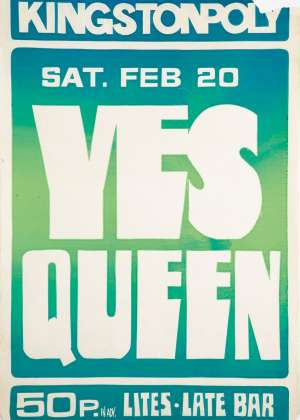 Poster - Queen in London on 20.02.1971