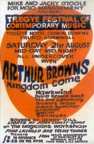 Poster - Queen in Truro on 21.08.1971