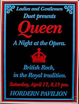 Poster - Queen in Sydney on 17.04.1976