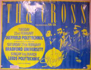 Poster - The Cross in Sheffield in 1988