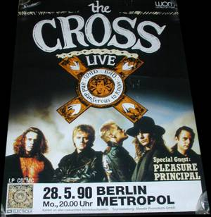 Poster - The Cross in Berlin on 28.05.1990